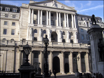 Bank of England Today