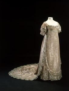 Princess Charlotte's Wedding Dress at the Museum of London.