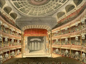 New Royal Theatre at Covent Garden