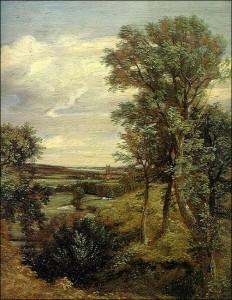 Dedham Vale by John Constable.