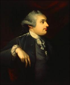 3rd Duke of Portland by Matthew Pratt.