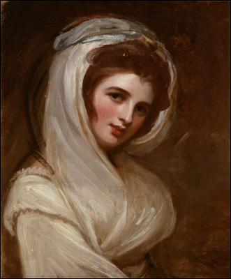 NPG 4448; Emma, Lady Hamilton by George Romney
