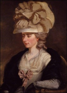 Fanny Burney by Edward Francisco Burney.