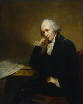 NPG 186a; James Watt by Carl Frederik von Breda