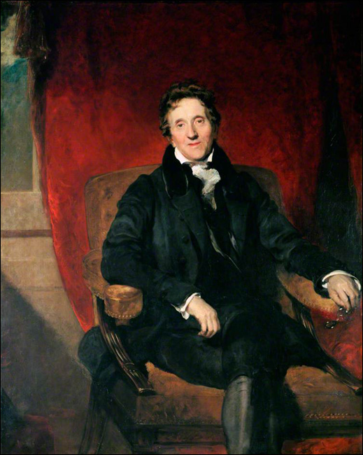 Sir John Soane painted by Thomas Lawrence.