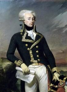 Lieutenant General Lafayette painted by Joseph Désiré Court.