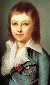 Portrait of Dauphin Louis-Charles of France by Alexander Kucharsky, 1792.