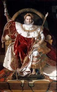 Napoleon on his Imperial Throne by Jean Auguste Dominique Ingres.