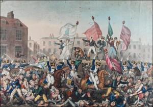 Peterloo Massacre.
