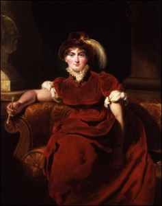 Princess Caroline of Wales by Thomas Lawrence.