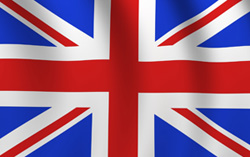 The Union Jack becomes the new flag of the United Kingdom in 1801, incorporating the Cross of St. George (England), the Cross of St. Andrew (Scotland), and the Cross of St. Patrick (Ireland).
