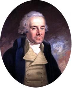 William Wilberforce painted by Karl Anton Hickel.