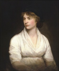 Mary Wollstonecraft by John Opie.