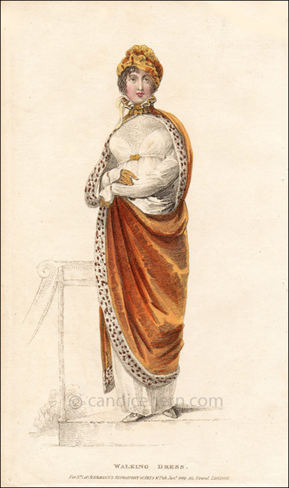 Walking Dress January 1809