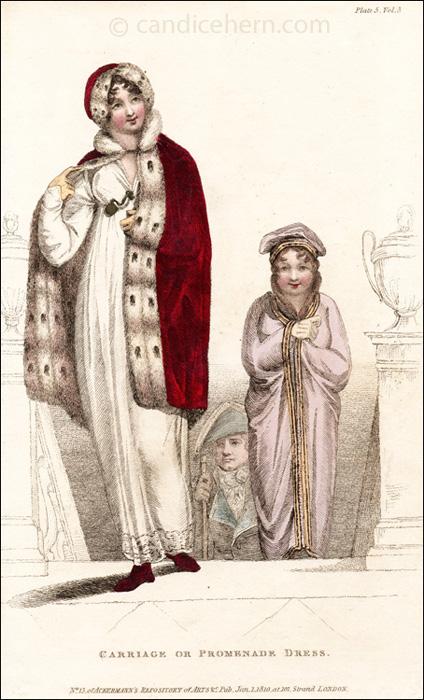 Promenade Dress January 1810