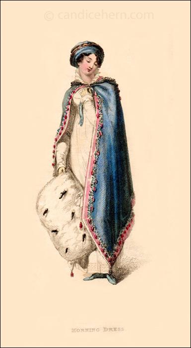 Promenade Dress February 1813