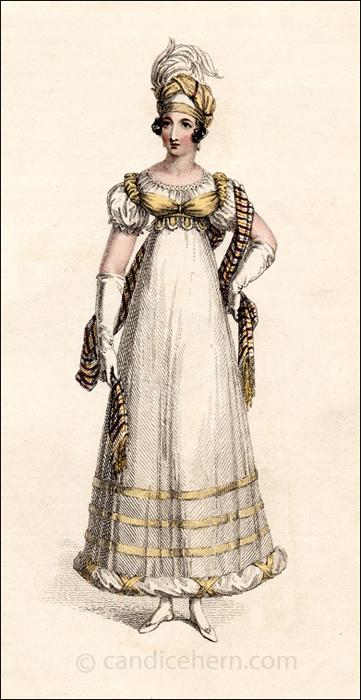 Evening Dress April 1818