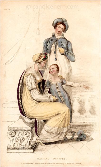 Walking Dresses June 1809