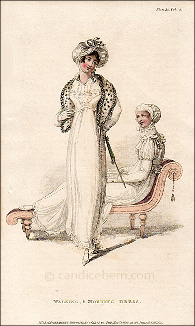 Waling & Morning Dress November 1810