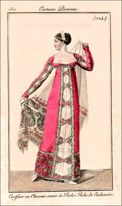French Evening Dress February 1811