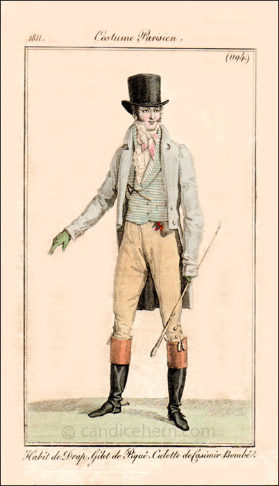 Gentleman's Day Wear December 1811