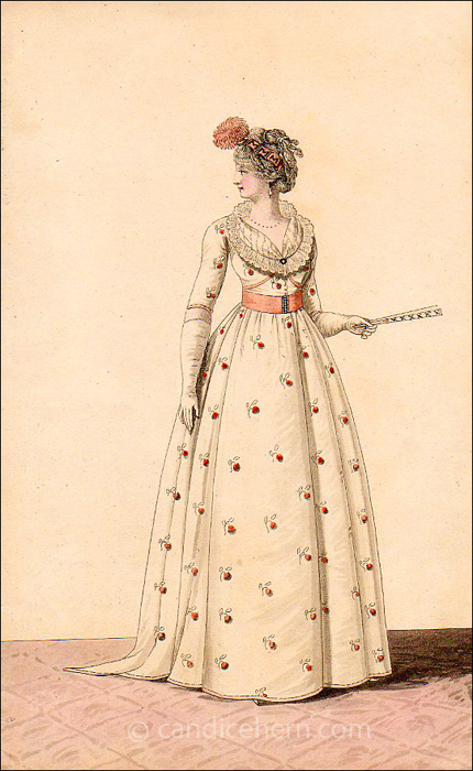 Evening Dress October 1799