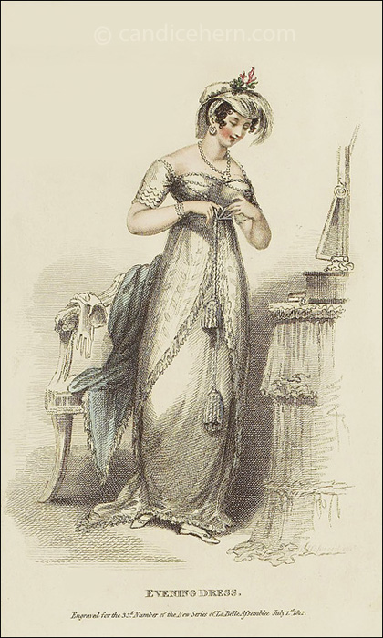Evening Dress July 1812