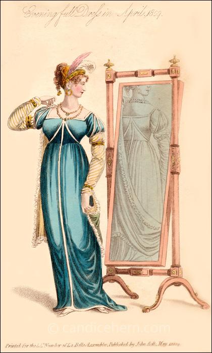 Evening Full Dress April 1809