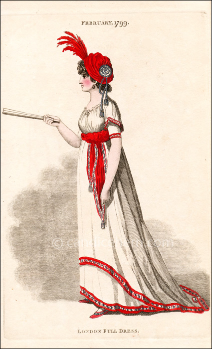 Full Dress February 1799