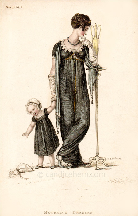 Mourning Dress September 1809