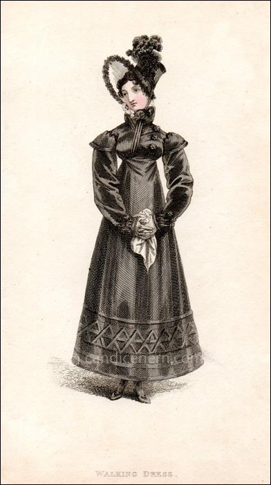 Walking Dress December 1817