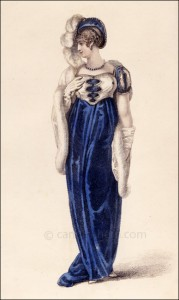 Opera Dress, Ackermann, March 1809
