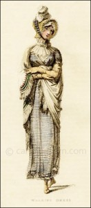 Walking Dress, Ackermann, November 1814