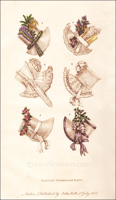 Hats July 1816