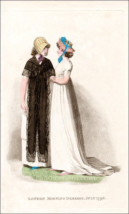 Morning Dresses July 1798