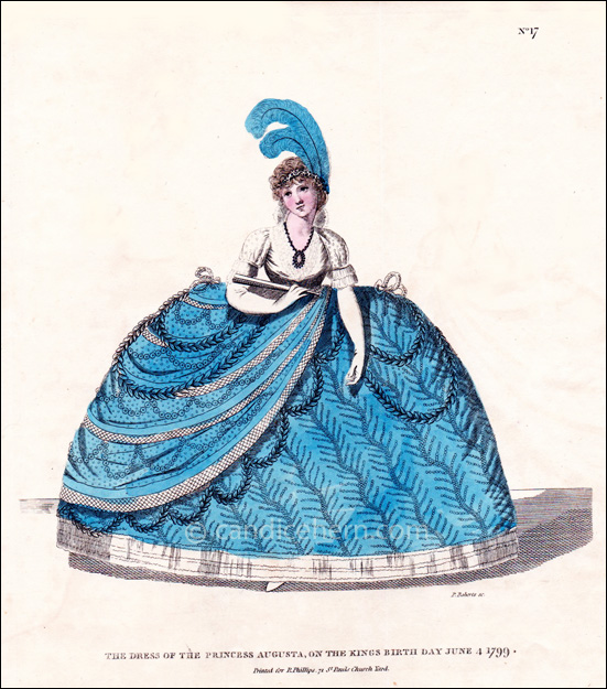 Court Dress June 1799
