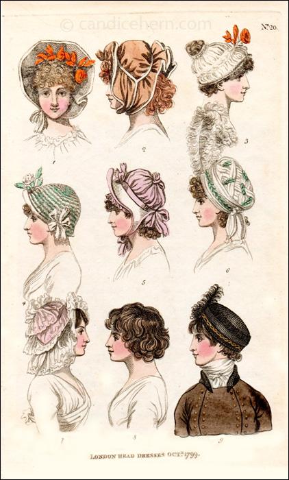 Hats October 1799