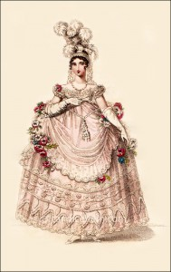 Court Dress April 1817