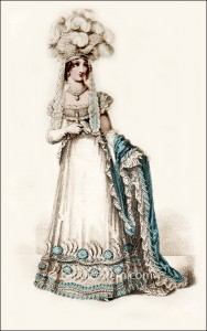 Court Dress July 1820