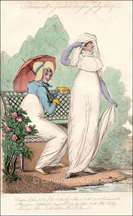 Walking Dresses, July 1807