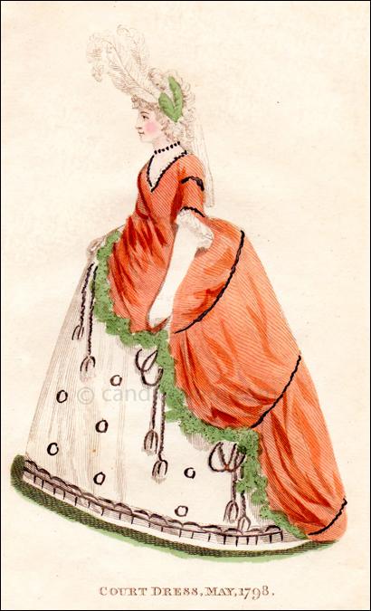 Court Dress May 1798