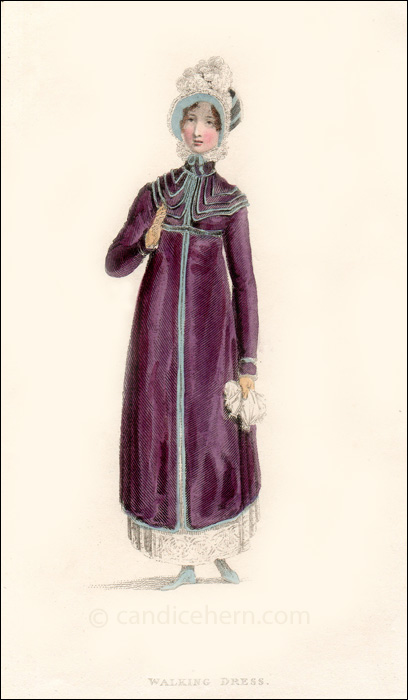 Walking Dress December 1814