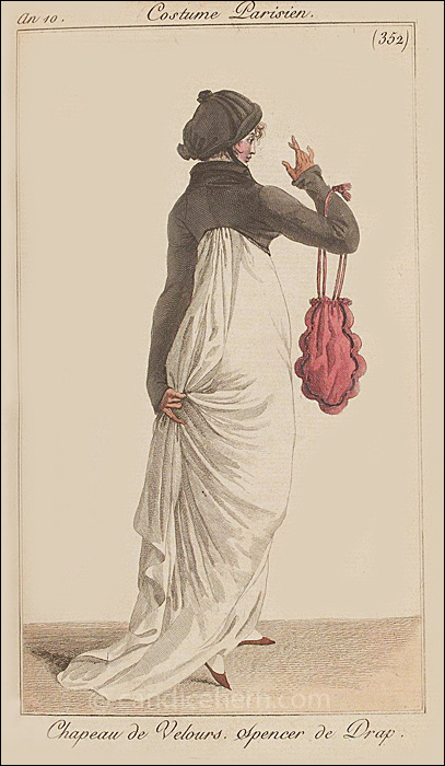 Walking Dress December 1801