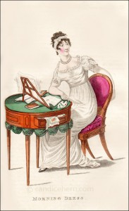 Morning Dress, March 1812