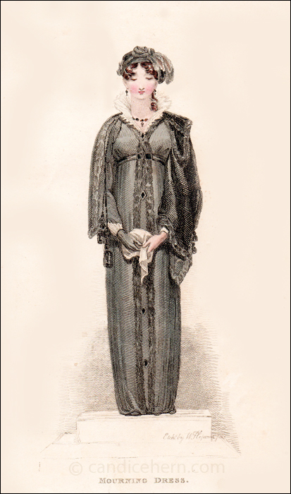 Mourning Dress, December 1811
