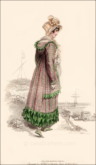 Sea Sie Bathing Dress, August 1815