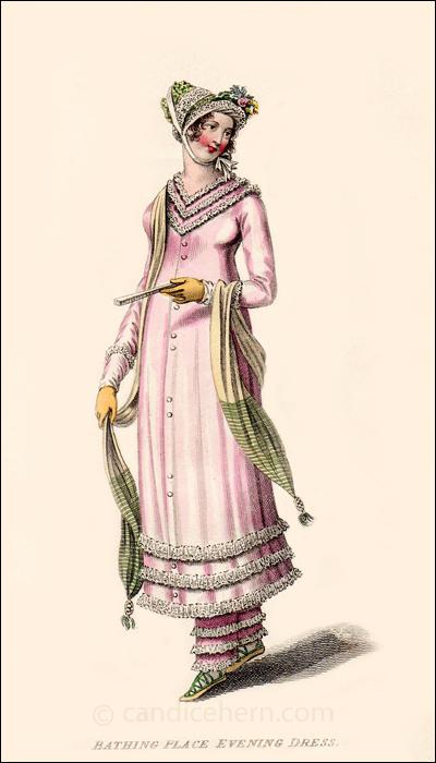 Sea-Side Walking Dress, September 1810
