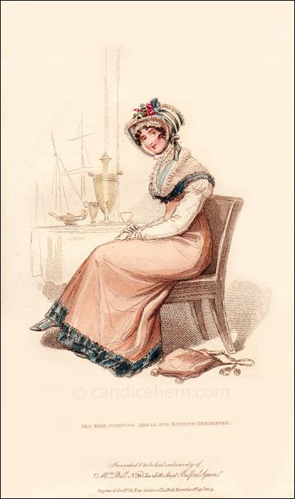 Sea-Side Morning Dress, September 1814