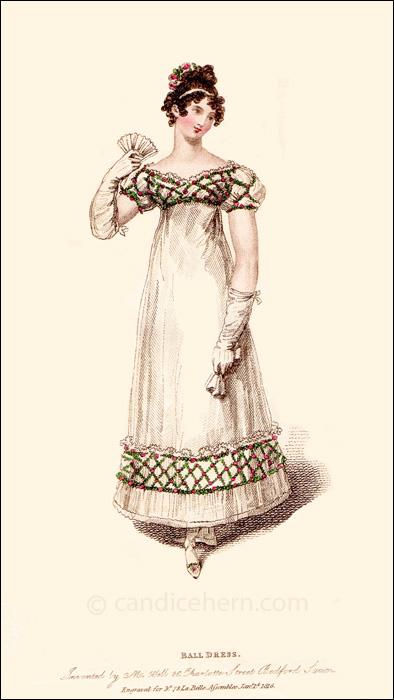 Ball Dress, January 1816