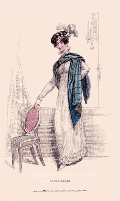 Opera Dress, March 1814